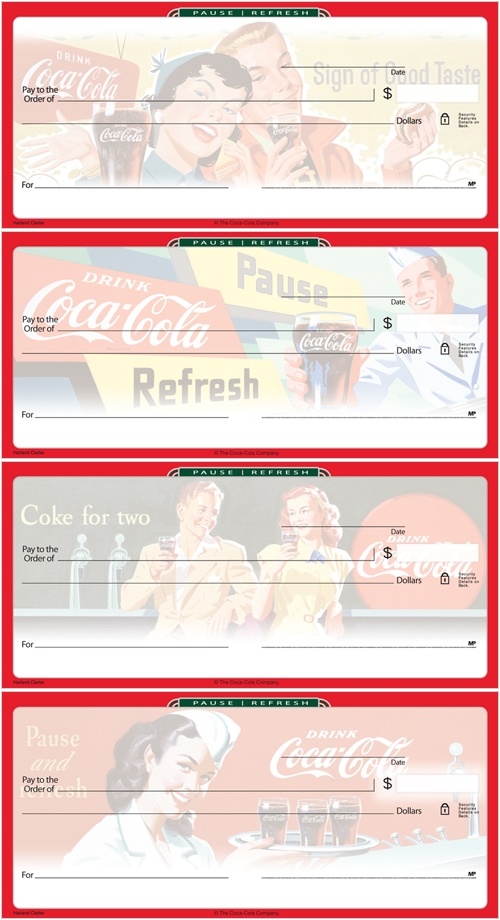 Coca-Cola Checks