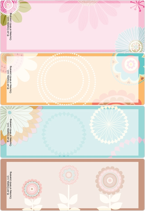 Spring Whimsy Address Labels