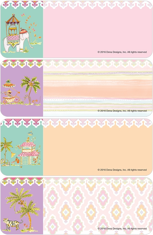 Haute Girls Moroccan Address Labels Costco Checks