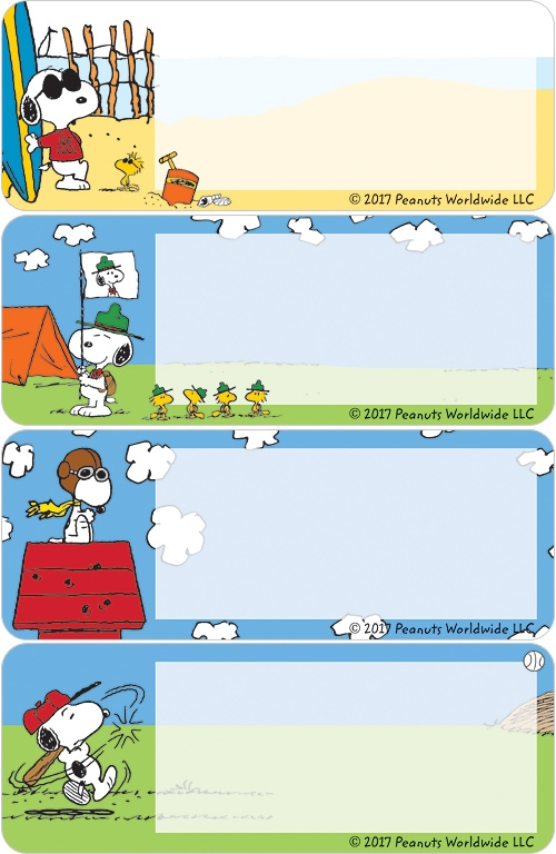 Snoopy Address Labels