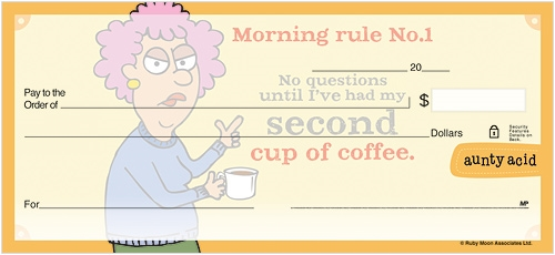 Aunty Acid Coffee Checks