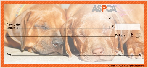 ASPCA® Puppies Checks