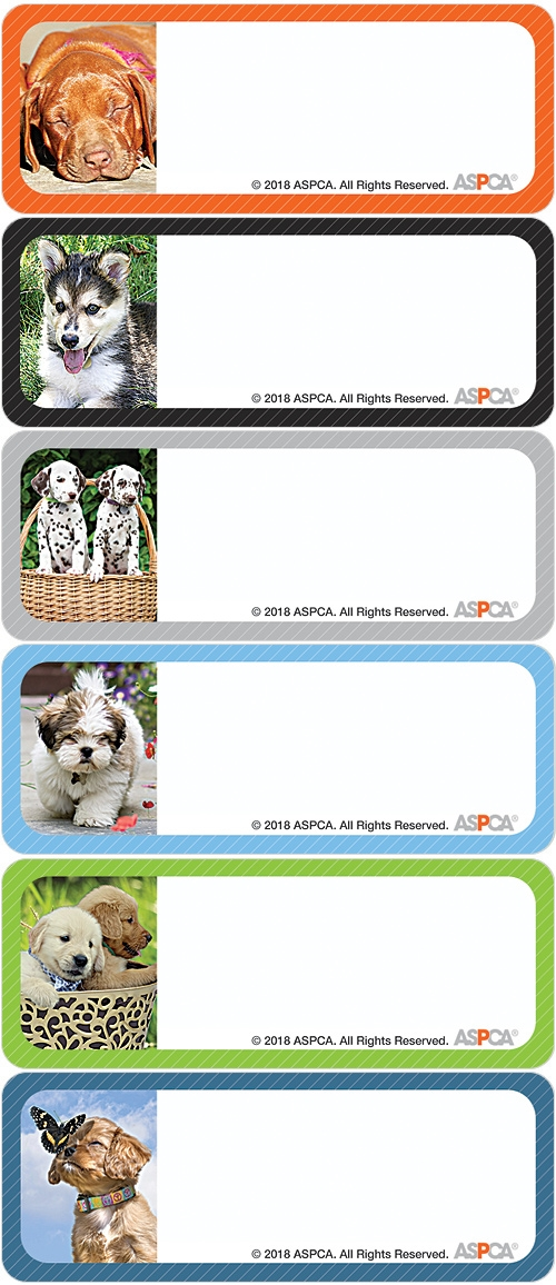 ASPCA® Puppies Address Labels