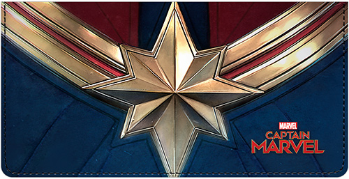 Captain Marvel™ Leather Cover