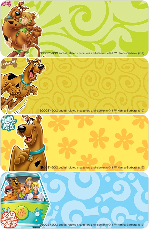 SCOOBY-DOO™ Address Labels