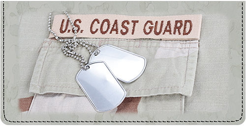 U.S. Coast Guard Leather Cover