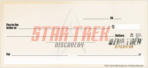 STAR TREK™ Discovery Checks