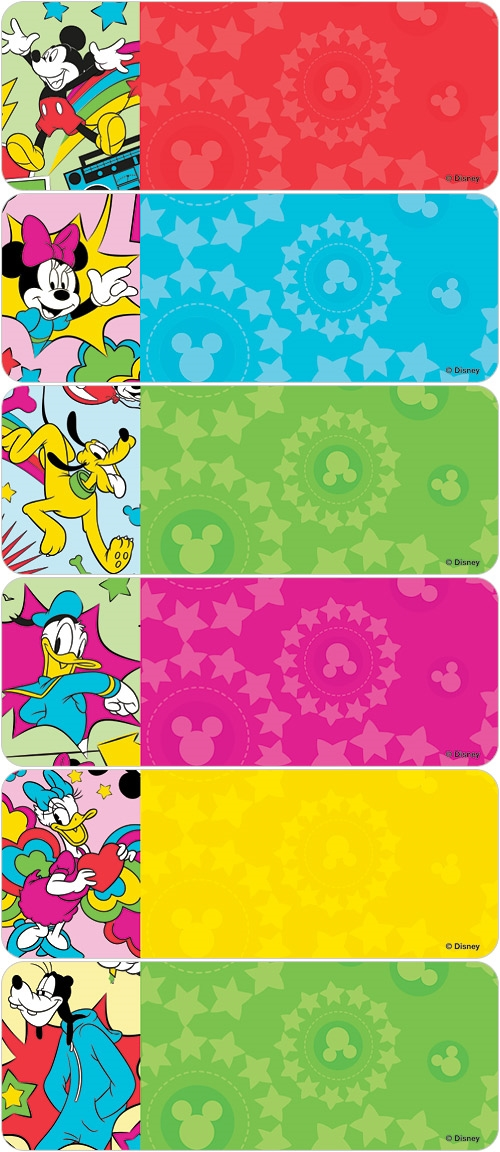 Mickey & Pals Address Labels