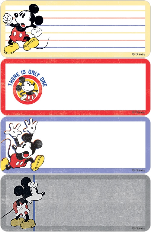 Mickey The One & Only Address Labels