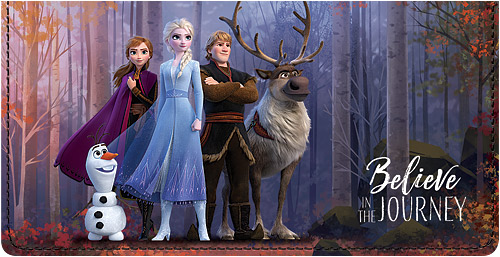 Frozen 2 Leather Cover