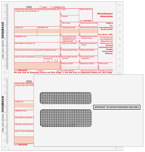 Printable 1099-misc Tax Form Free