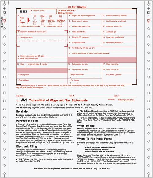 continuous w-3 transmittal of income | costco checks