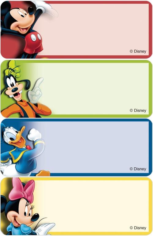 mickey friends address labels costco checks