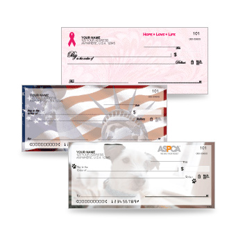 View our line of Inspirational / Cause Related Checks