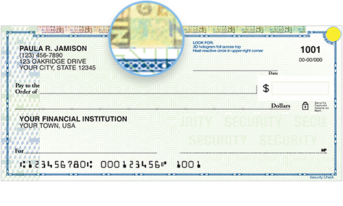 High Security Personal Checks