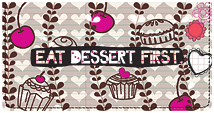 Smirk Sweet Treats Leather Cover