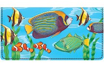 Exotic Fish Leather Cover