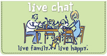 Live Family Live Happy Leather Cover