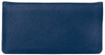 Navy Blue Leather Cover