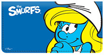 Smurfs Leather Cover