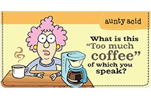 Aunty Acid Coffee Leather Cover