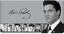 Elvis™  Photo Strip Leather Cover