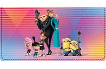 Despicable Me 3 Leather Cover