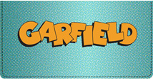 Garfield Logo Leather Cover