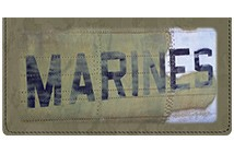 Marines Leather Cover
