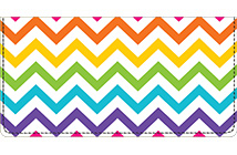 Bright Chevron Leather Cover