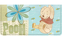 Pooh Scrapbook Forest Leather Cover
