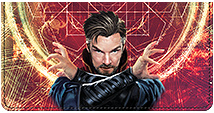 Doctor Strange Leather Cover