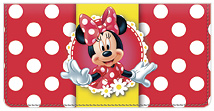 Minnie Mouse Leather Cover