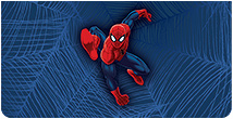 Ultimate Spider-Man Leather Cover