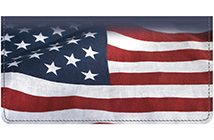 Stars and Stripes Leather Cover
