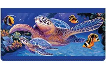 Sea Turtle Leather Cover