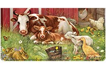 Barnyard Babies Leather Cover