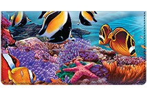 Steve Sundram Tropical Fish Leather Cover
