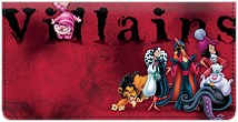 Disney Villains Leather Cover