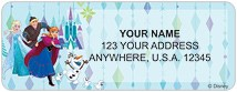 Frozen Northern Lights Address Labels Thumbnail