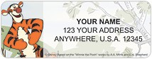 Winnie the Pooh Adventure Address Labels