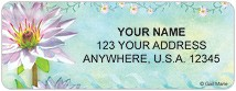 Colorful Blooms Address Labels