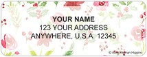 Seasonal Blooms Address Labels