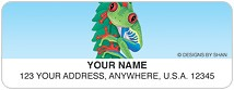 Red-Eyed Tree Frog Address Labels