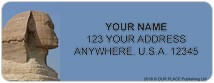 Wonders of the World Address Labels