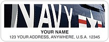 Navy Address Labels