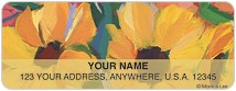 Artistic Blooms Address Labels