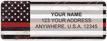 Support Our Firefighters Address Labels
