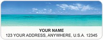 Escape to Paradise Address Labels