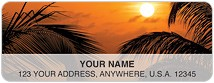 Caribbean Paradise Address Labels